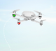 2019 New Thermal imaging flying gasoline for diy drone selfie frame engine kit brushless landing gear with 720p camera box