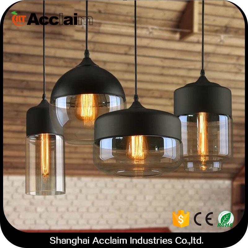 Breve mosaico nero shades lampade a sospensione per la cucina ad <span class=keywords><strong>isola</strong></span> antiquariato indiano attaccatura di vetro lampada per bar