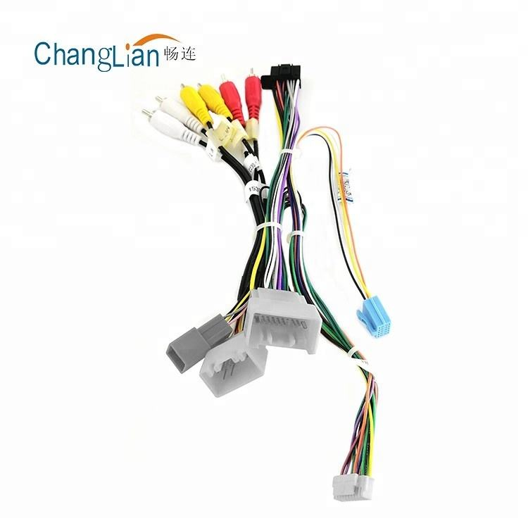 High Quality China Auto car stereo wiring loom automotive car stereo pigtail