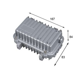 167*84*83 미리메터 China manufacturer electronic power supply ygkt 알루미늄 인클로저