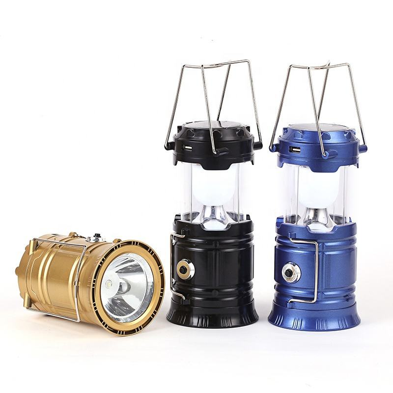 2020 hot sale stretch solar power led lantern rechargeable outdoor camping lights led solar lantern for camping