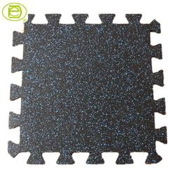 Durable interlocking tile mats outdoor waterproof rubber flooring