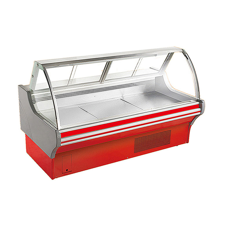 Top selling supermarket meat display cabinet food service refrigeration butchery display merchandiser for bakery food