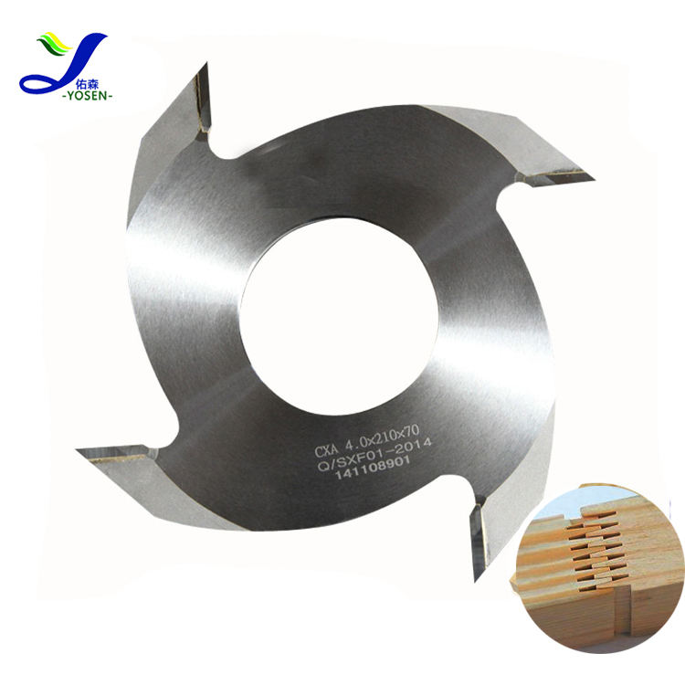 160*4.2*50/70*9/12mm-2T finger joint cutter for wood