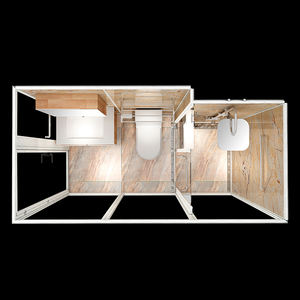 All In One Complete Prefabricated Bathroom Unit bathroom shower cabins, bathroom shower units