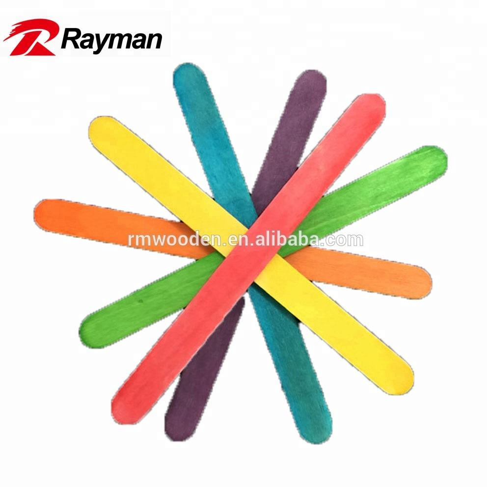 wholesale wooden stick in different colors for DIY crafts