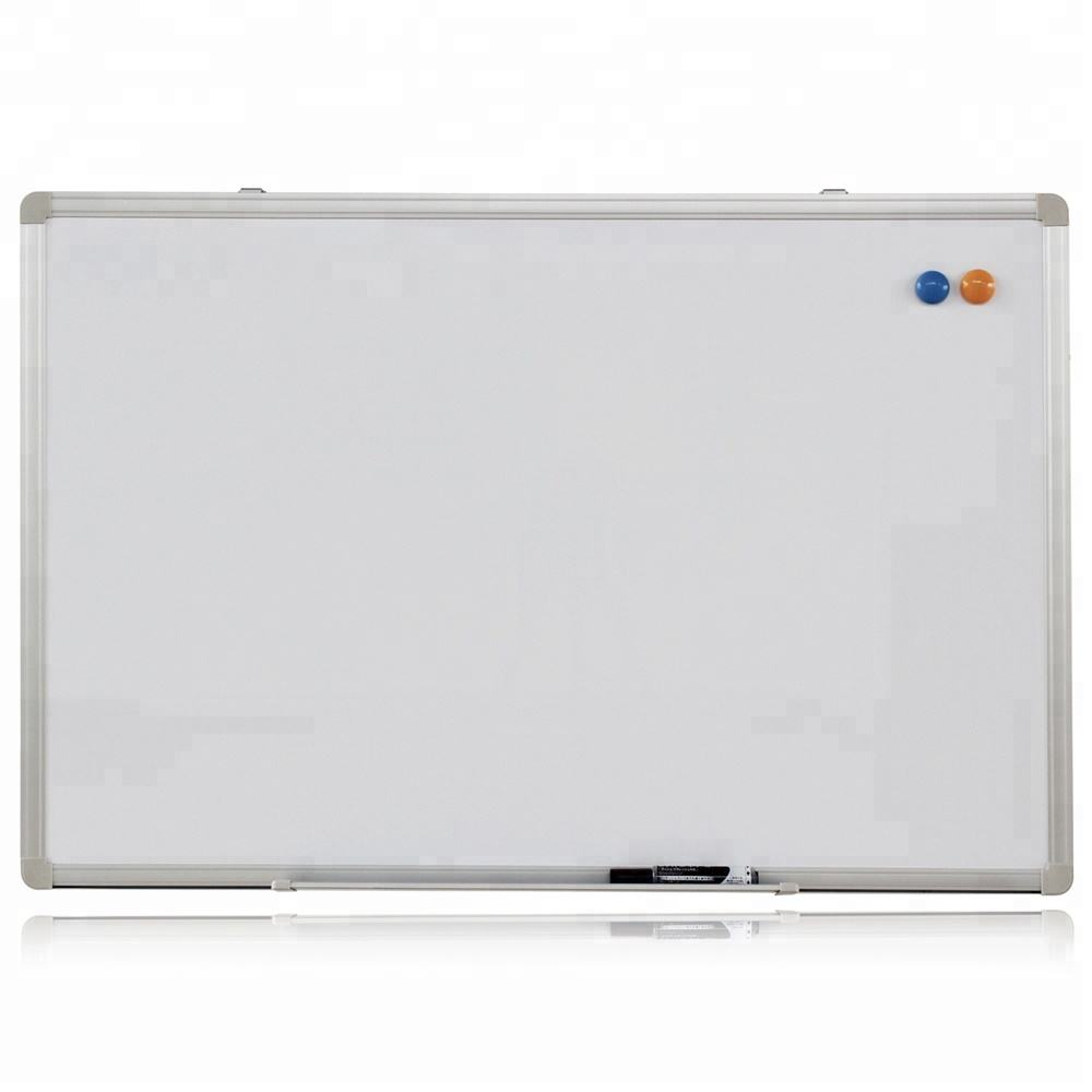 high quality wall mounted enamel steel sheets whiteboard with aluminum frame