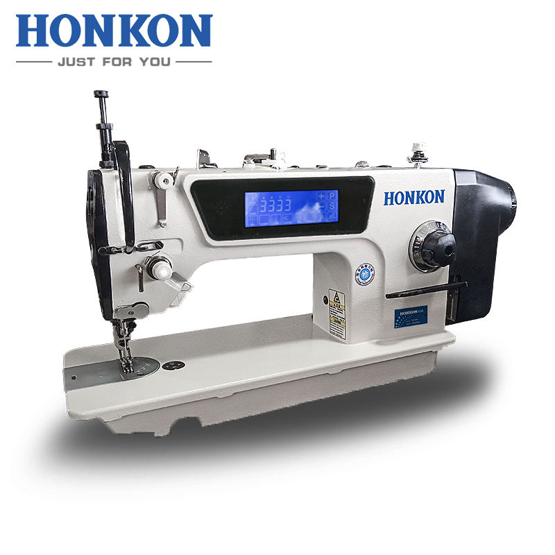 HONKON HK-5490-D3 top and bottom feed Computer high speed synchronous sewing machine