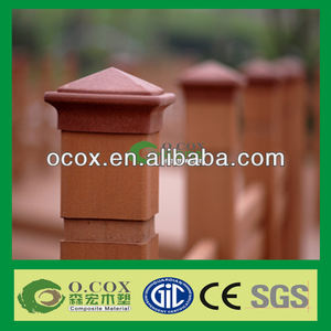 Wood Plastic Composite WPC Pac Post