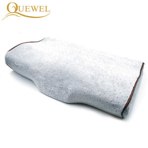 Quewel Wimpern Verlängerung Lustige Neck Kissen, Professionelle Grafted Lash Memory Foam Kissen, Private Label Schmetterling Geformt Kissen