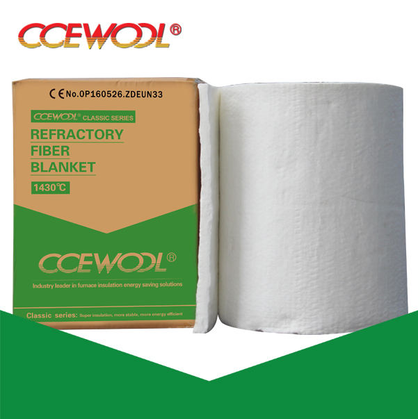 CCEWOOL Thermal Insulation Ceramic Fiber Blanket Roll