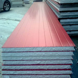 Low cost roofing materials 0.5mm steel surface eps sandwich panel,sandwich panel roofing sandwich