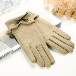 Fashion touch women sexy sheep cashmere winter woolen gloves