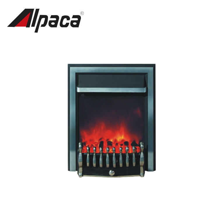 High Quality small electric wood burning stove insert fireplace heater
