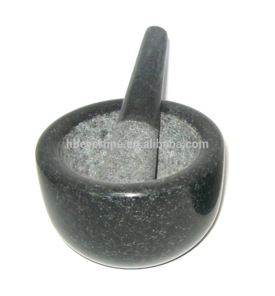 Piedra <span class=keywords><strong>negro</strong></span> mortero y maja