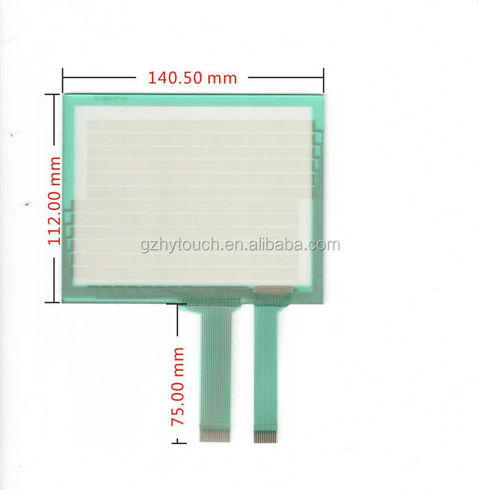 Keyence digitale resistive touch screen panel transparant lcd-scherm