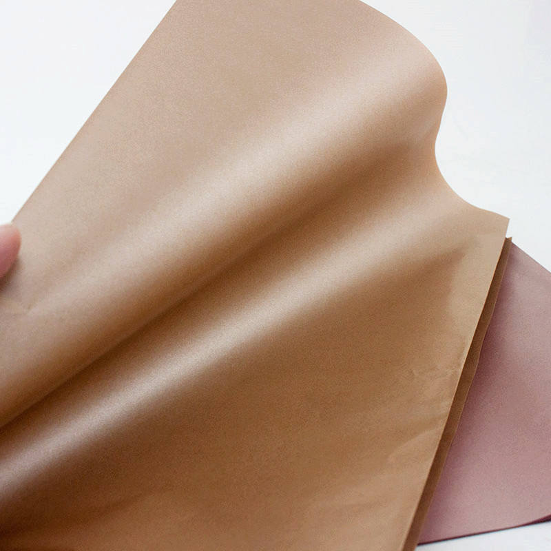 Pure Rose Gold and Champagne Packaging Tissue Wrapping Paper