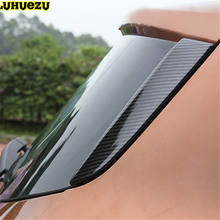 ABS Chromed Side Rear Spoiler Glass Trim Cover For Ford Escape Ku ga Accessories 2013 2014 2015 2016 2017