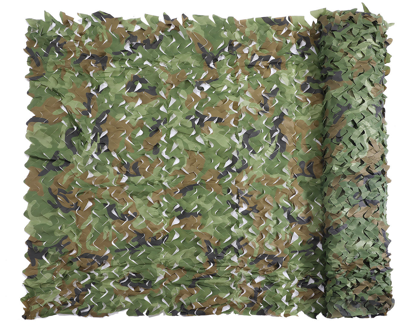 3D Woodland Fabric Pine Needles Multi Spectral Shadow Thermal Hunting Camo Netting Multispectral Anti-radar Army Camouflage DIY