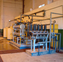 Power Plant Cholorine Generator by electrolyzing Seawater