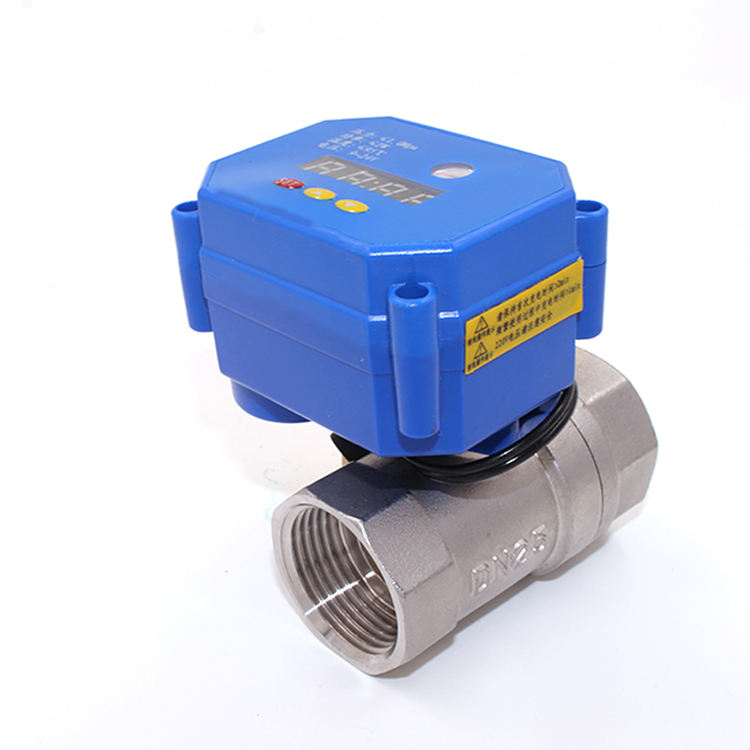 "1/2""3/4"" timing valve ball valve drive actuator cwx-15N for automatic drainage and water supply"