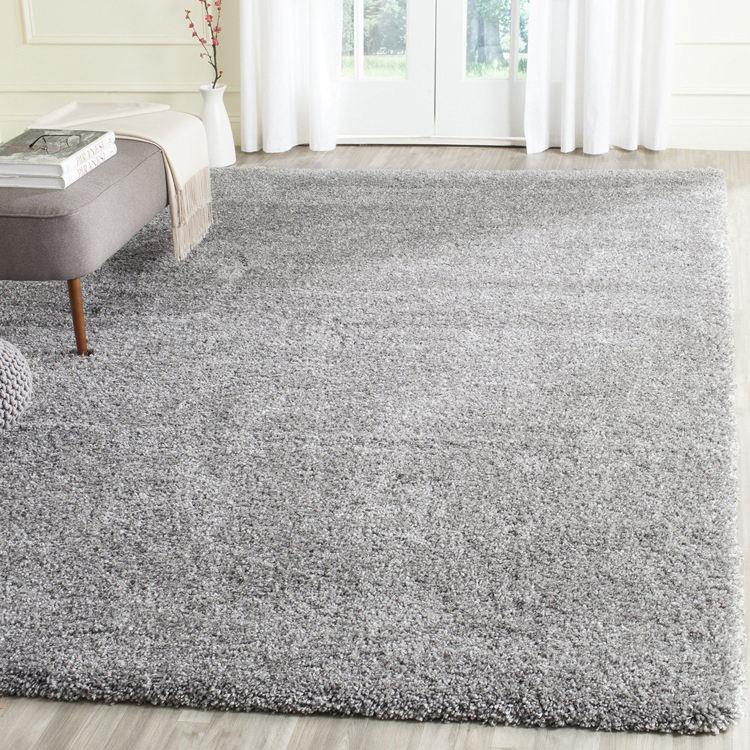 4mm pile height modern polypropylene carpet shaggy floor rugs