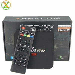 2018 заводская цена MXG 4K * 2K четырехъядерный Android TV box S905W android7.1 WiFi iptv Smart TV Box-вилка: US/UK/AU/EU