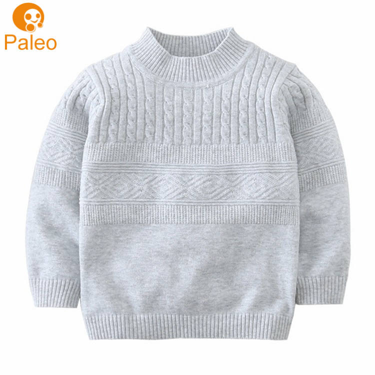 China Manufacturer European Knitted wear Baby Pullover Sweater design