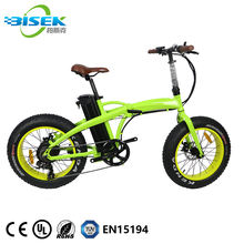 2020 Cheap New Model Electric Bicycle 20 Inch Bikes 500W 48V Snow Folding Bicycles For Men