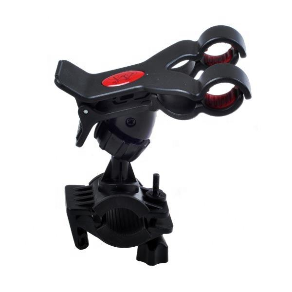 Mountain Bicycle Phone Bracket Holder | Bike Handlebar Clip Stent Mount for Mobile Phones