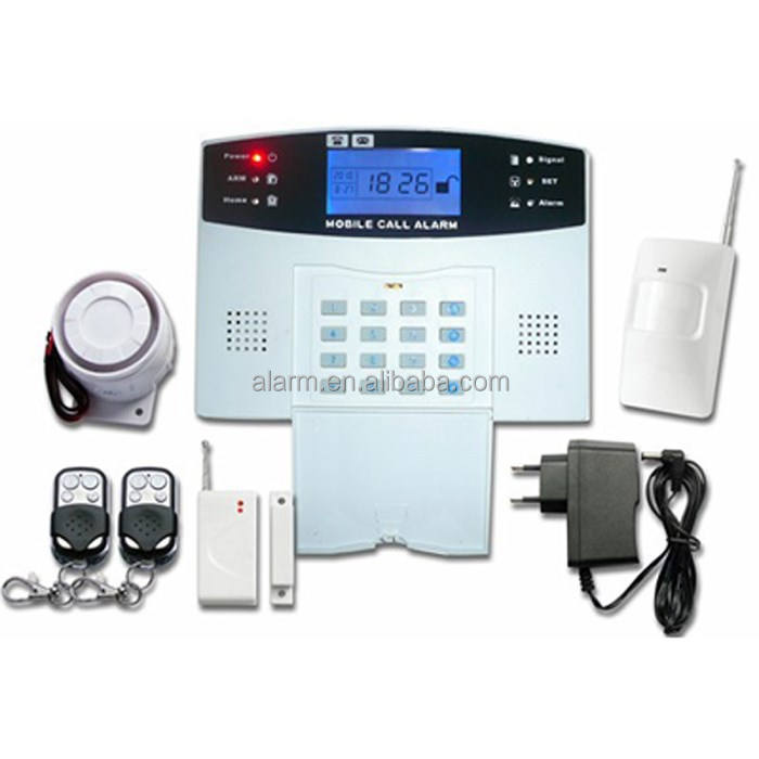 Top quality wireless/wired gsm alarm system home security PGCE100