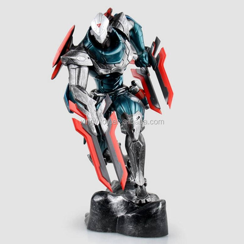 Video oyunu şekil League of Legends LOL Zed 23cm oyuncak action figure