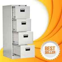 Customized drawer design index card steel file cabinet for office