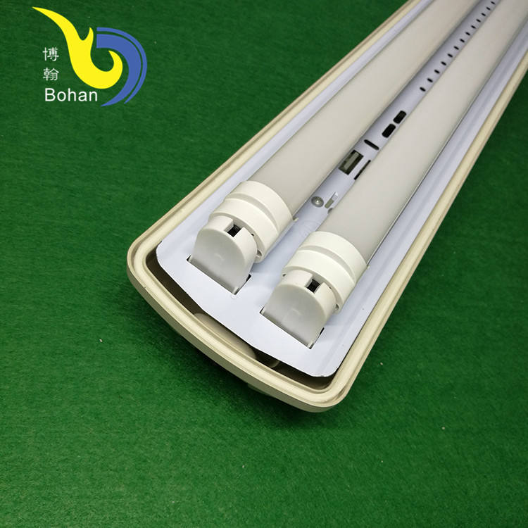 Industrial explosion proof ip65 waterproof led fluorescent 2 lamp 4ft tube light