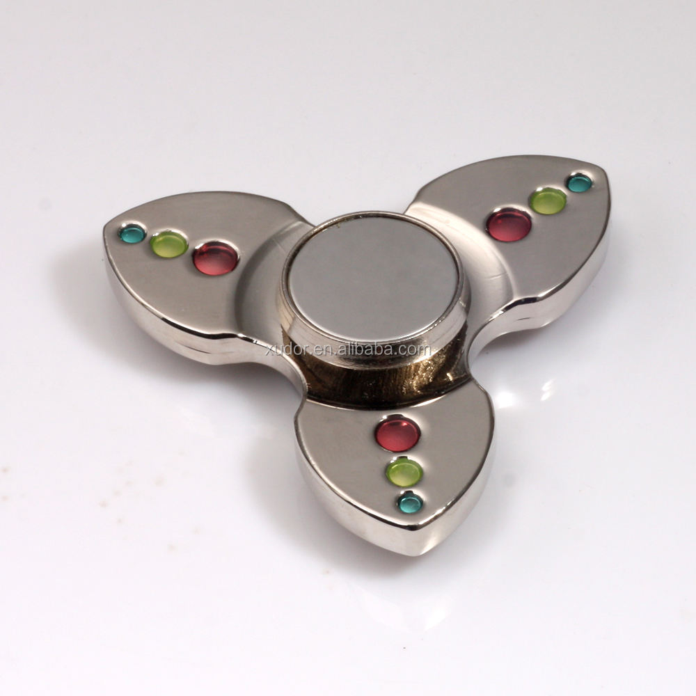 New Popular Relieve Stress hand spinner fidget toy with crystal