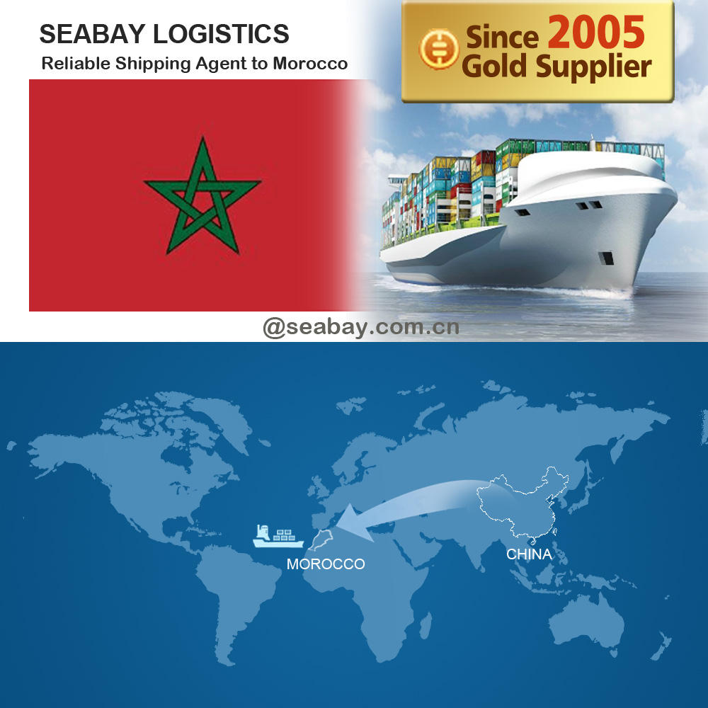 reliable shipping freight forwarding service from china to agadir morocco by sea and air