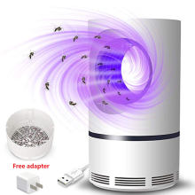 New USB Powered UV LED Electronic Waterproof Mosquito Killer Trap Lamp