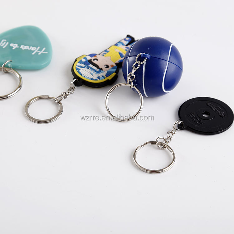 cheap bottle opener keyring wholesale chapstick holder photo keychain