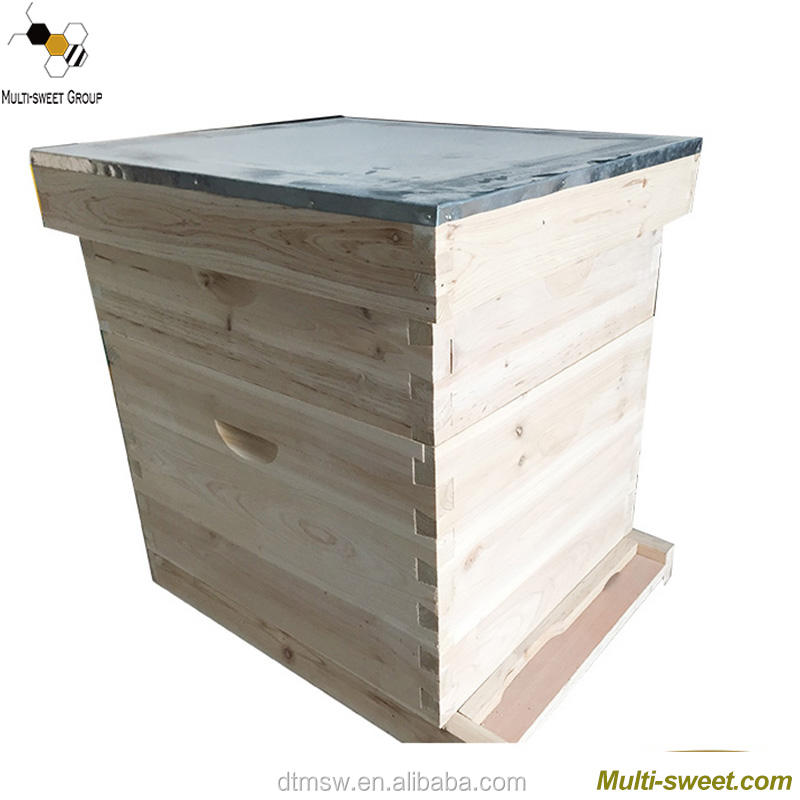 Factory price dadant beehive and beehive frame wholesale