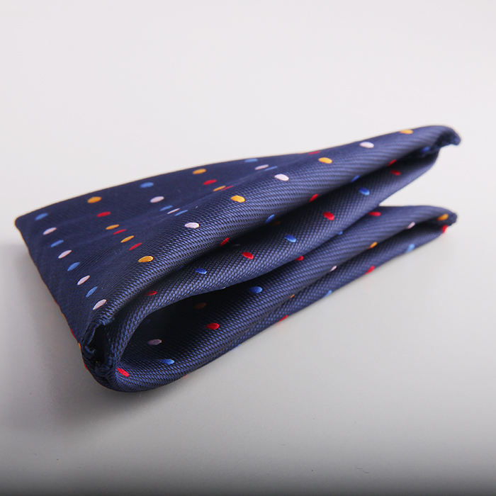 Custom polyester Printed Big Handkerchief pocket square for men