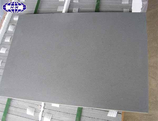 Honed China grey andesite stone