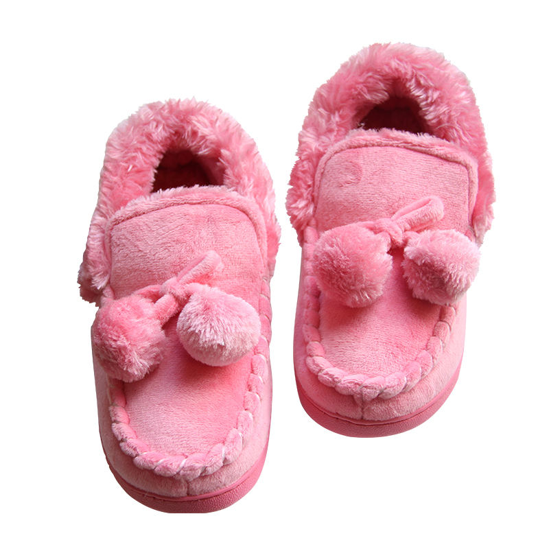 2019 Pink kids baby girl flat cute cotton shoes in safe