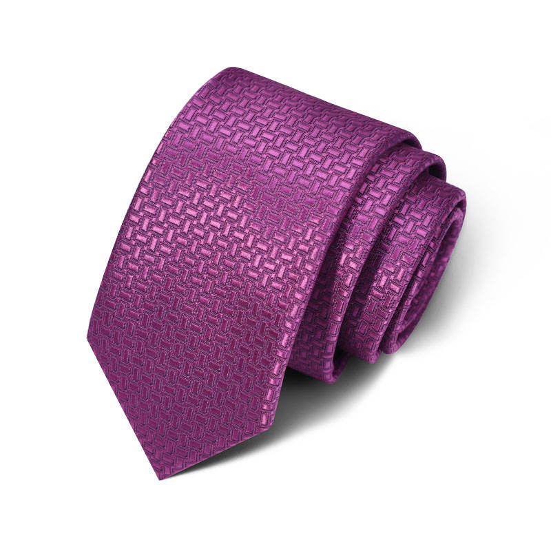 Newest Designer Mens Ties Hot Sale Hand Made Italian Ties Woven Purple Neck Ties