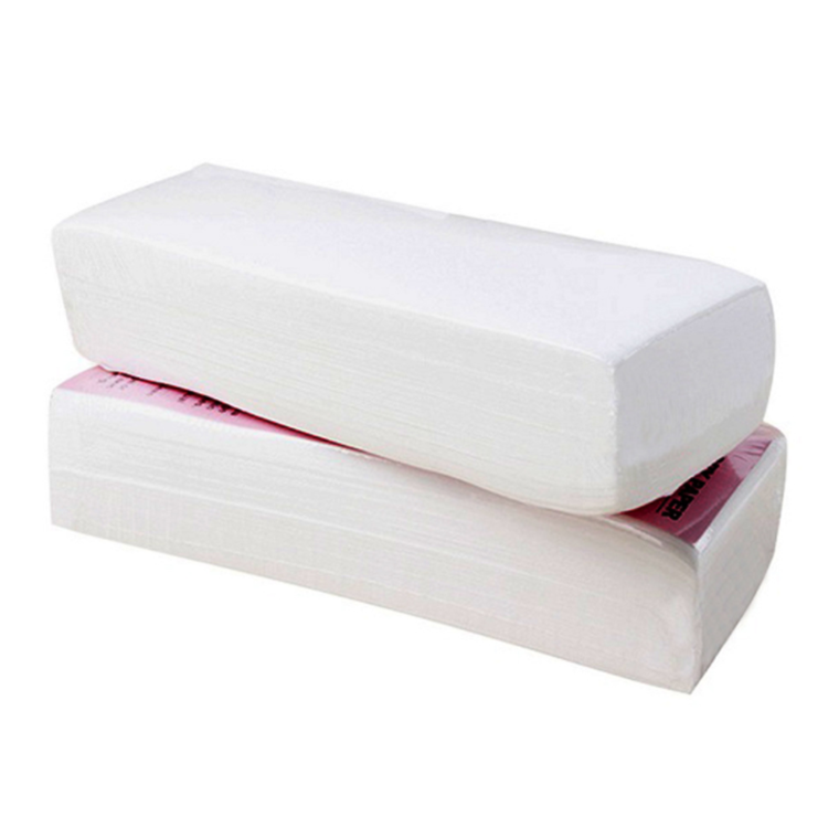Wholesale easy to use reusable depilation cheap pellon wax strips cotton for women