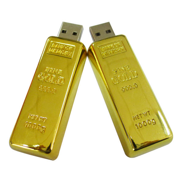 Newest design wedding gifts 4GB 8GB 16GB usb 2.0 bullion usb memory stick gold bar usb flash drive