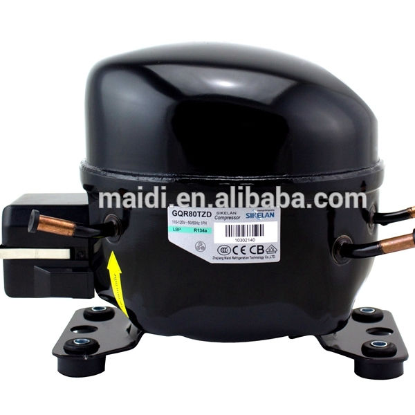 ice maker parts compressor MK-GQR80TZD R134a compressor MBP 520W