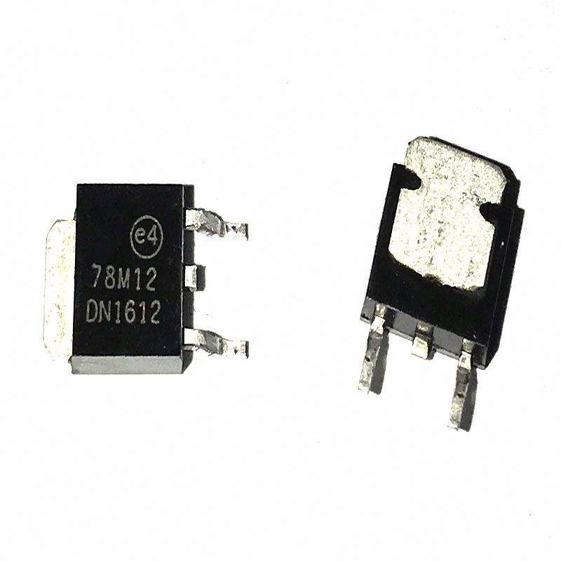Linear Voltage Regulator IC Positive Fixed 1 Output 12V 500mA DPAK 78M12A