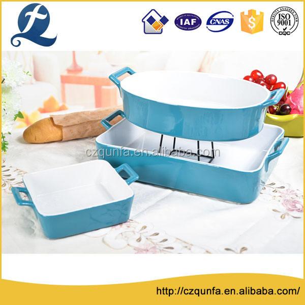 Профессиональный нетоксичный духовка безопасной керамическая посуда закуски выпечки хлеба набор