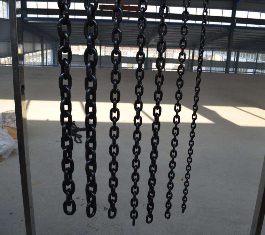 World Hot saling high tensile welded steel link Boom Chain