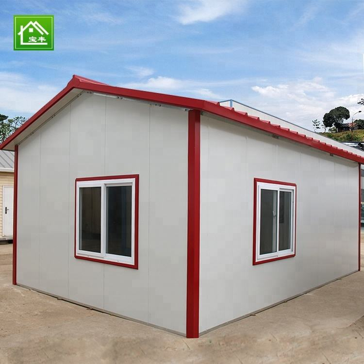 Low Price Steel Structure Prefabricated Houses In Lebanon